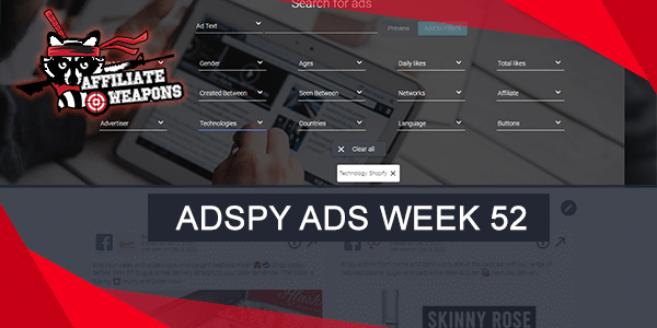 Adspy Ads Week 52