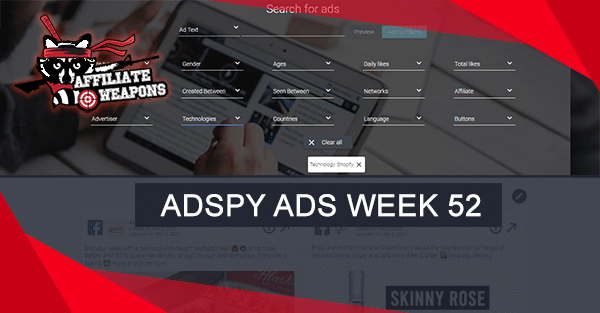 14 AdSpy Winning Ads – Week 52
