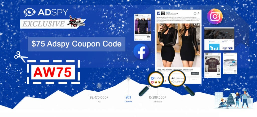 AdSpy Coupon Code Winter