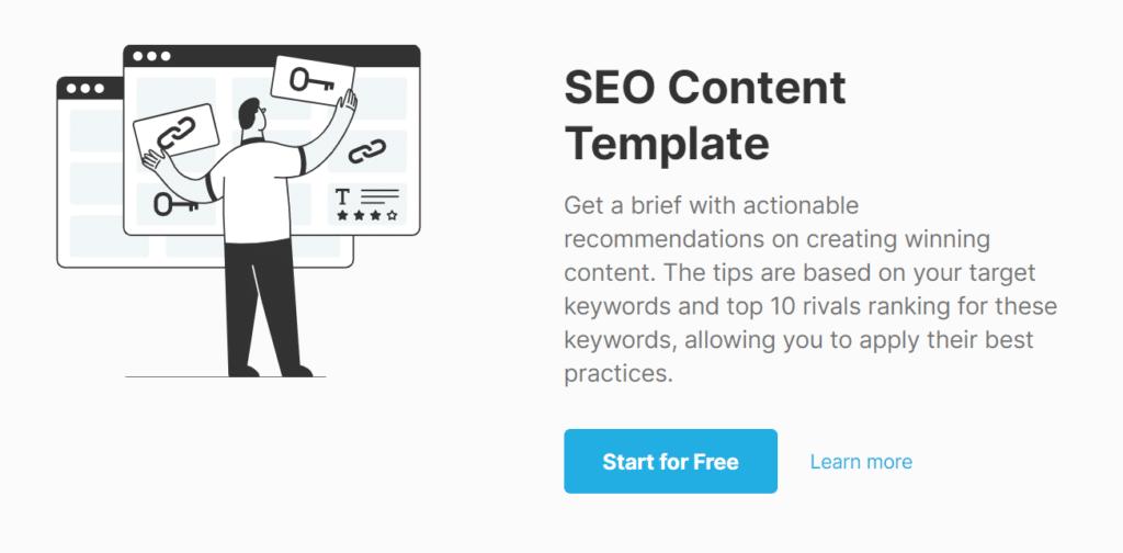 SEMrush Content Optimization