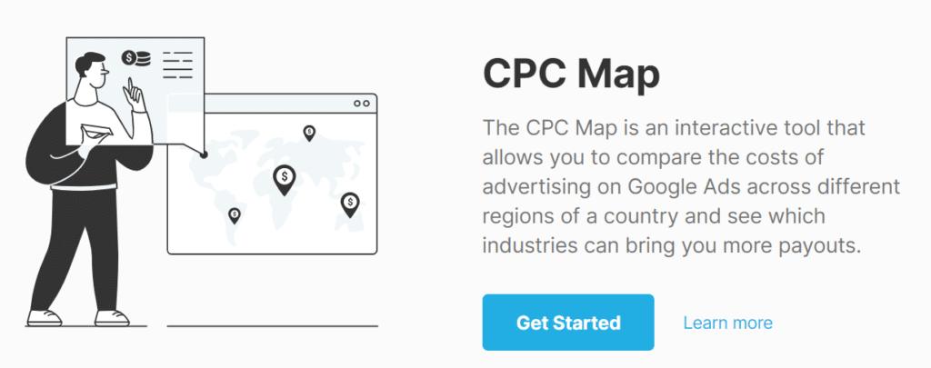 SEMrush CPC Map