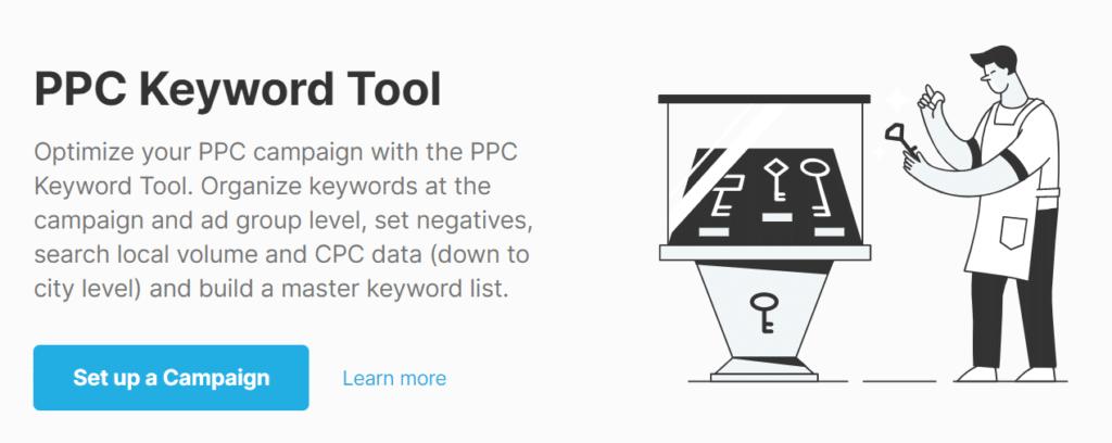 SEMrush PPC Keyword Tool